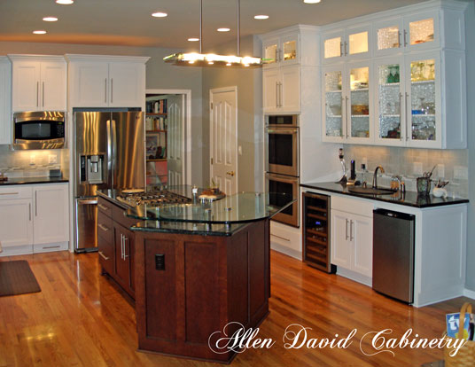 Kitchen cabinets and kitchen remodel-www.allen-david.com