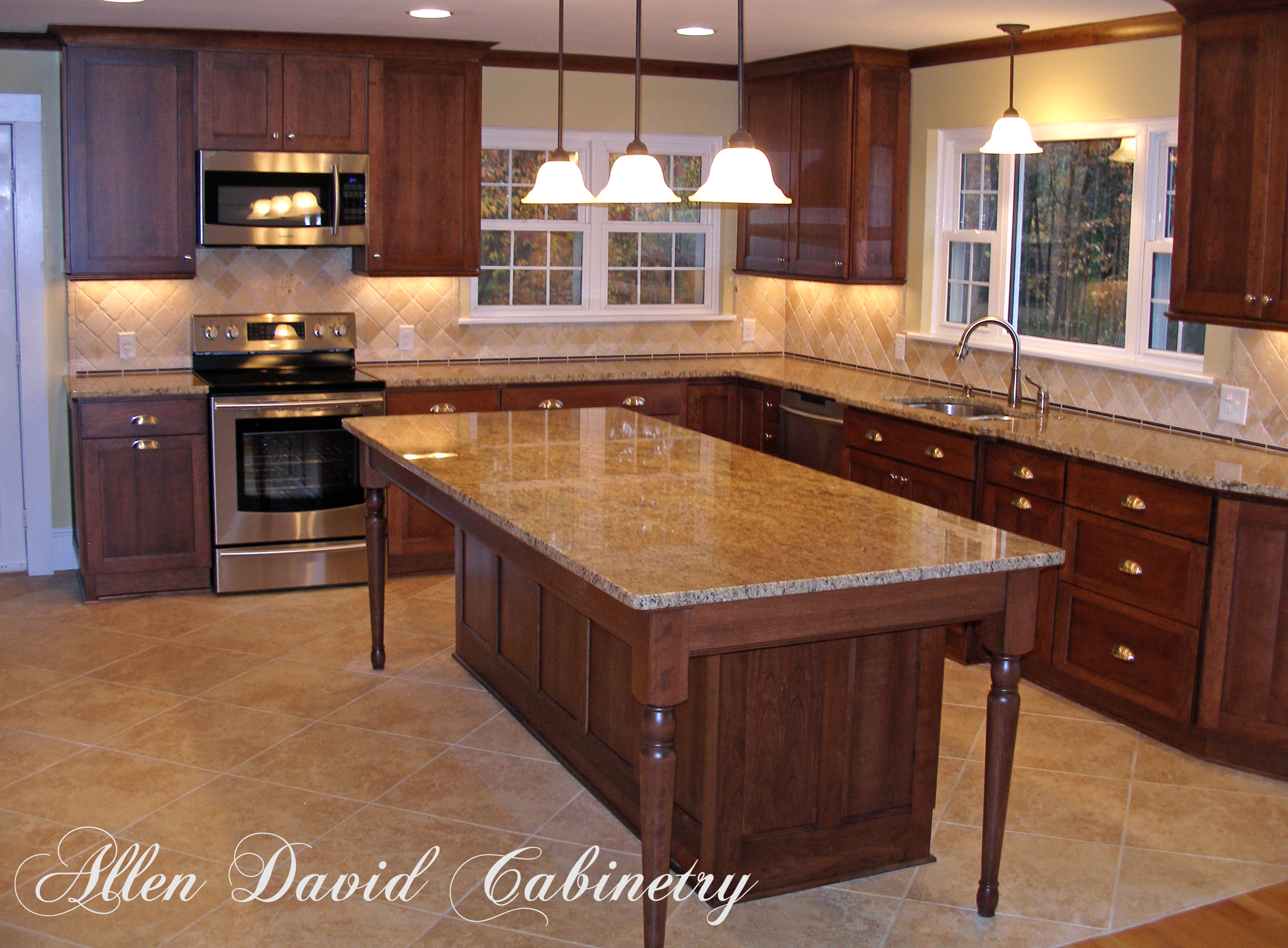 Kitchen remodel after picture-Allen David Cabinetry-(980) 722-9186